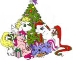 Merry Treats Family by foxspotted