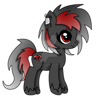 Earth Pony 01: RAVE-BEAT {{CLOSED Adopt}} by NinjAdopts94