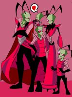 Invader Zim growing by naruto-warriors-oc