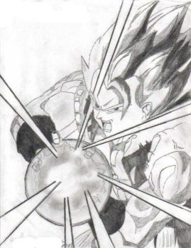 Gogeta the mighty by terrerest4