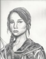 Katniss Everdeen by Joezart