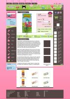 Something Kawaii Product Page by InterGrapher
