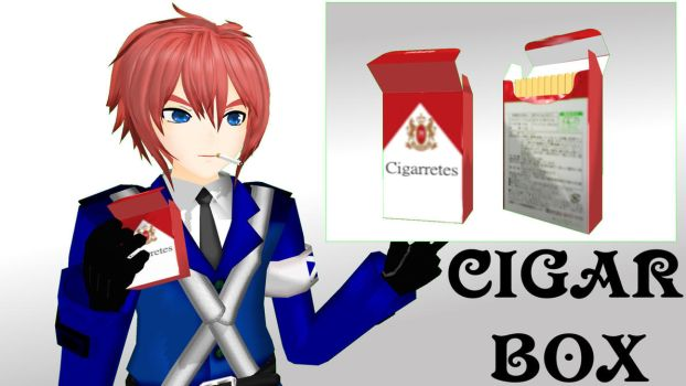 MMD Cigar Box DL by PrincessSushiCat