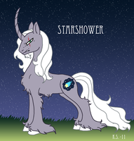 MLP New and improved Starshower by The-Clockwork-Crow