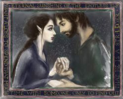 Arwen and Aragorn by Irsanna