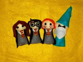 Harry Potter Minis by Nonameth