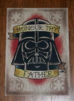Darth Vader Print by G00NEYT00NS