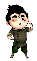 LoK - Chibi Bolin by SuperKusoKao
