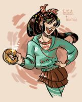 Vanellope by CrystalCurtis