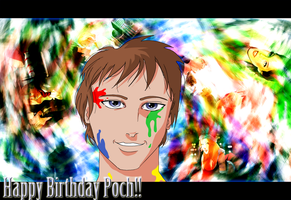 Happy Birthday Poch 2013!!! by Johny-Kun