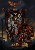 Blood Angels 1st Company by Nord-Sol