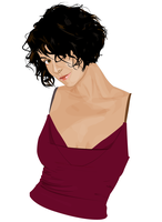 Illustration of Catherine Bell by logaan