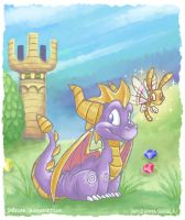-Spyro the Dragon- by ZombiDJ