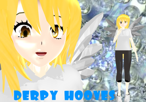 -MMD Newcomer- Human Derpy Hooves -Download- by snips800