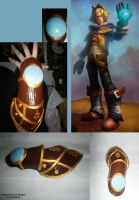 Ezreal's Cosplay-Weapon by Hepheistion