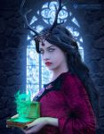 Carrie, the Evil Queen by adrianoampb