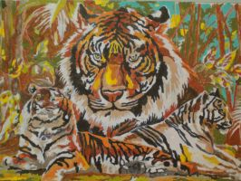 tigers by elfquest4