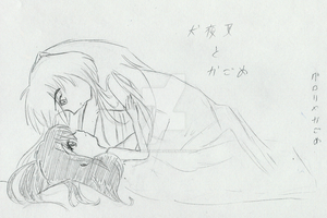 ::InuKag in bed:: by gloriakagome