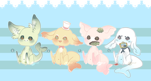 Gummi Shark Puppies 8 .:Closed:. by Pieology