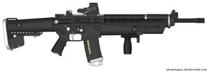 Weapons: NP-71 LBR by purpledragon104