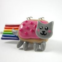 Nyan Cat necklace by TrenoNights