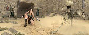 Tomb Raider 4 | Danger on the road by trazuzen