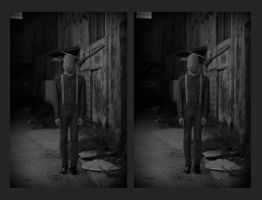 Scarecrow Mask [stereo 3D] by akrialex