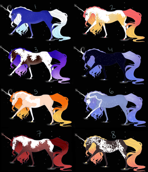 Adoptables 2 (ALL OPEN!!) by araquartz