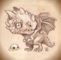 Chibi Dragon by dodoalbino
