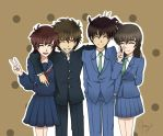 Gosho Couples (?) by happygirlXD