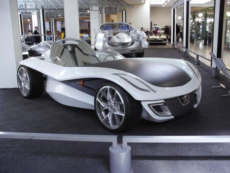 Concept car 2by Peugeot museum by psykomysik