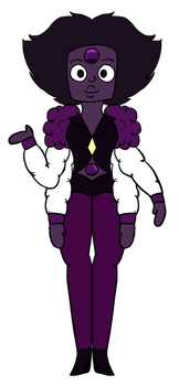 Purple 'Grape' Garnet by Zerada