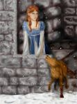 My last day at Winterfell by Bayra