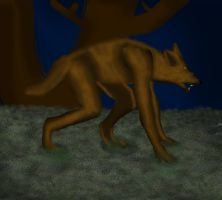Lycanthrope by CanuckZD