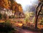 Autumn Road by Frani54