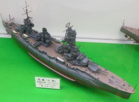 IJN Dreadnought Battleship Yamashiro by rlkitterman