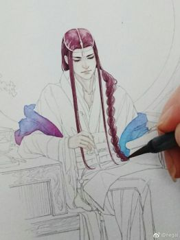 Hand Drawing by NOWDOACG