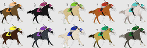 Racehorse and Jockey Designs (OPEN) by WhiteStagRanch