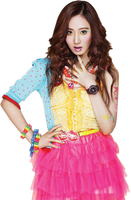 Yuri Girls Generation PNG Render by Shifa1204