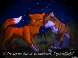 Leafpool and Squirrelflight's secret by FireMoon9