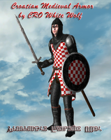 Croatian Medieval Armor by crowhitewolf