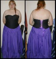 Corset Top and Petticoat by Akki14