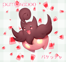 Pumpkaboo and Candycorn by LadyMurkrow