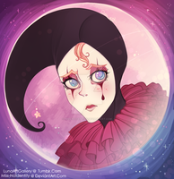 Caricature Pierrot by Miss-NoIdentity