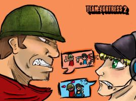 Team Fortress 2: Encounter by EuroBean
