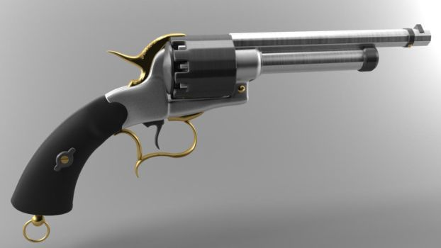 LeMat revolver by Leonas15