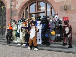 Suitwalk Frankfurt - group shot by pitch-black-crow