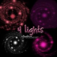 4 lights by Itzeditions