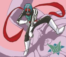 KAMENRIDER ICHIGO by digital-z3ro