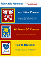 Adoptable Coupons by HappyDesigns